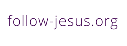Follow Jesus - Print logo